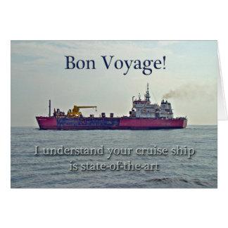 Bon Voyage - Cruise Card