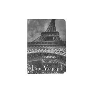 Bon Voyage Eiffel Tower, Paris Passport Holder