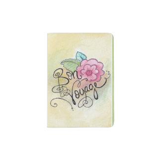 """Bon Voyage"" Parisian girl passport book Passport Holder"