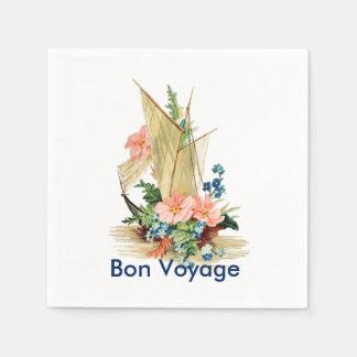 Bon Voyage Party Disposable Napkin