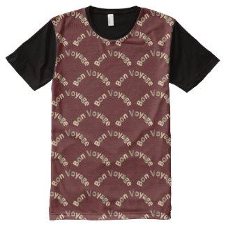 Bon Voyage Pattern All-Over-Print T-Shirt