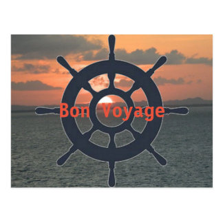 Bon Voyage Post Card