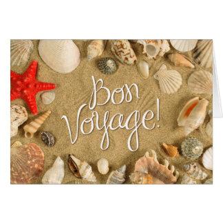 bon voyage! (sea shells) card