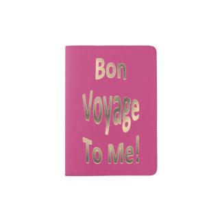 Bon Voyage to Me 02 Passport Holder