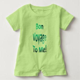 Bon Voyage to Me Baby Romper