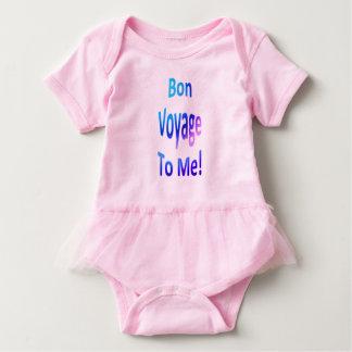 Bon Voyage to Me Pastels Baby Bodysuit