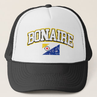 Bonaire Vintage Flag Trucker Hat
