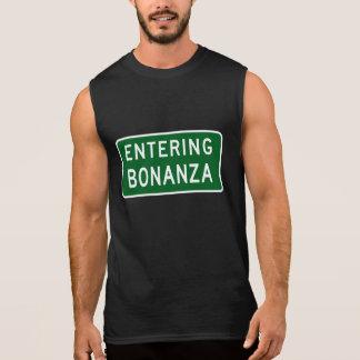 Bonanza, Road Marker, Oregon, USA Sleeveless Shirt