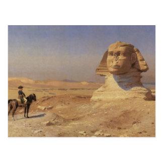 Bonaparte Before The Sphinx Postcard