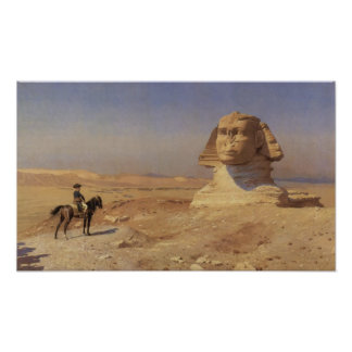 Bonaparte Before The Sphinx Poster
