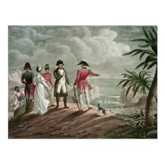 Bonaparte on St. Helena Postcard