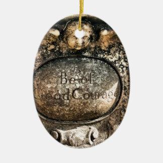 Bonaventure Cemetery Savannah, GA Ceramic Oval Ornament