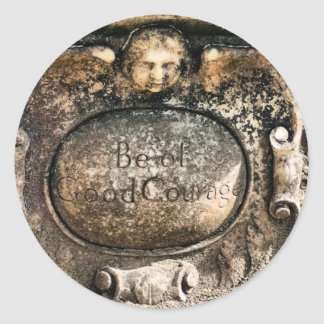 Bonaventure Cemetery Savannah, GA Classic Round Sticker