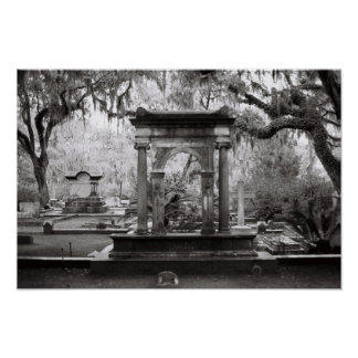 Bonaventure Cemetery Savannah Poster