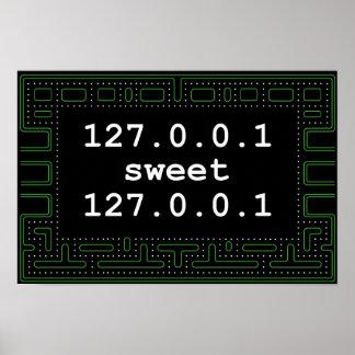 bonbon 127.0.0.1 à 127.0.0.1 poster