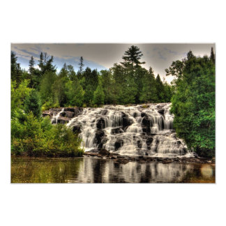 Bond Falls, Michigan Photo Print