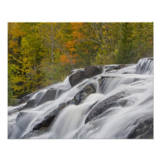 Bond Falls on the Middle Fork of the Ontonagon Poster
