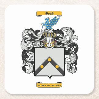 Bond Square Paper Coaster