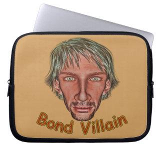 Bond Villain Laptop Sleeve
