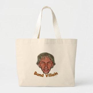Bond Villain Large Tote Bag