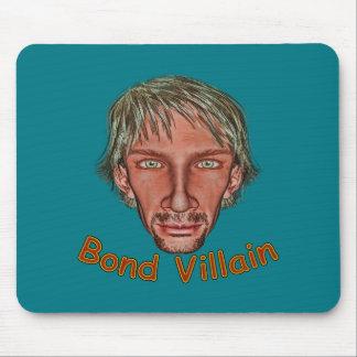 Bond Villain Mouse Pad
