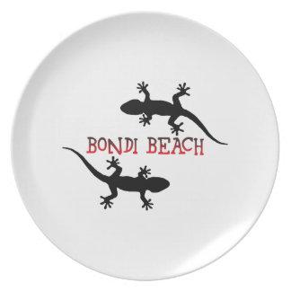 Bondi Beach Australia Dinner Plates