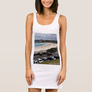 Bondi Beach Ladies Singlet Tank Dress