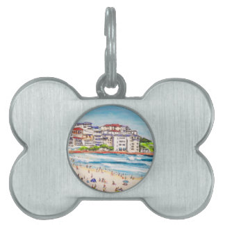 Bondi Beach Living Pet Tag