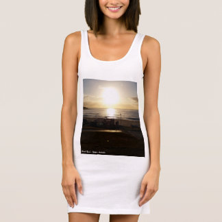 Bondi Beach Sunrise Ladies Singlet Tank Dress
