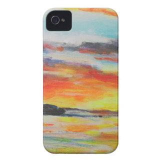 Bondi Beach Sunset iPhone 4 Cases