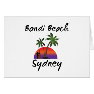 bondi beach sydney card