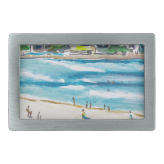 Bondi Blues Belt Buckle