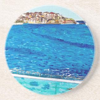 Bondi Blues Coaster