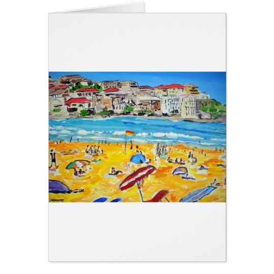 Bondi Bright Card