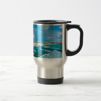 Bondi Icebergs Summer Travel Mug