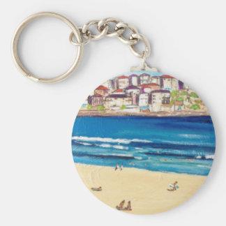 Bondi Views'17 Basic Round Button Keychain