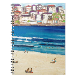 Bondi Views'17 Spiral Notebook