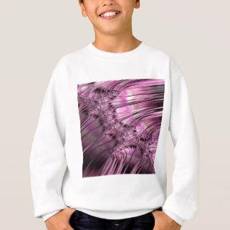 Bonding Ice on Frozen Lake Fractal Sweatshirt