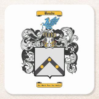 Bonds Square Paper Coaster