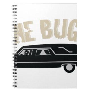 Bone Buggy Spiral Notebooks