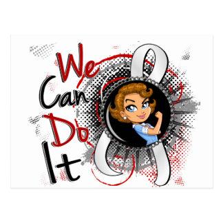 Bone Cancer Rosie Cartoon WCDI Postcard