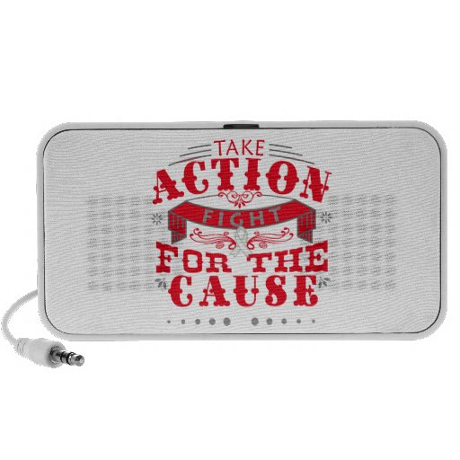 Bone Cancer Take Action Fight For The Cause iPhone Speakers