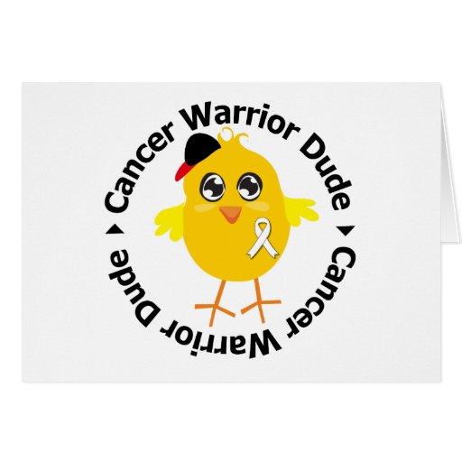Bone Cancer Warrior Dude Card