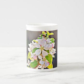 "Bone China Cup/Mug ""Apple Tree Blossoms"" Tea Cup"