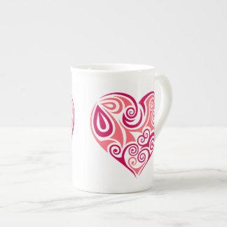 Bone China Mug - Heart