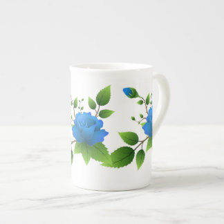 Bone China Mug with roses
