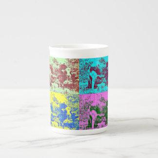 Bone China Pop Art Cow Cup