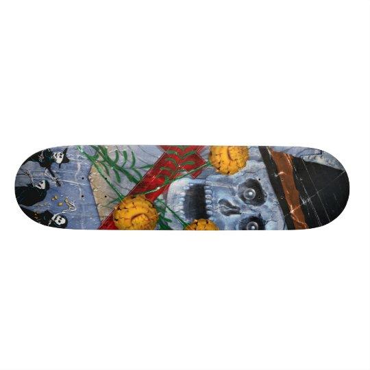 Bone Deck™ - Muertos and Marigolds Skate Board Decks
