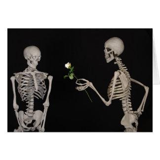 bone deep love romantic valentine card