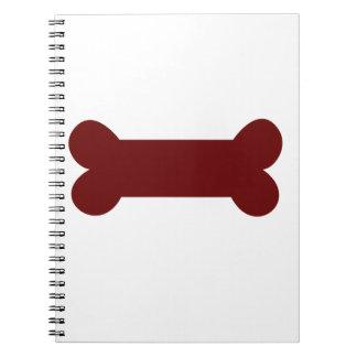 bone for dog notebook